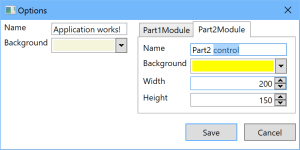New user settings for module Part2