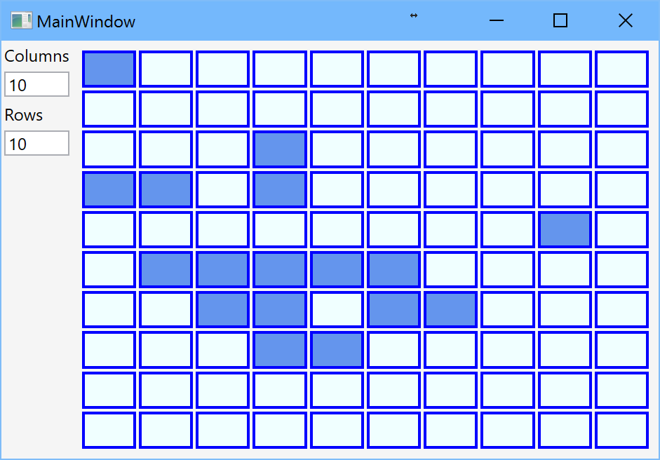 Grid With Dynamic Number Of Rows And Columns Part 1 I