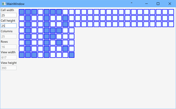 Grid with dynamic number of rows and columns, part 2 – I