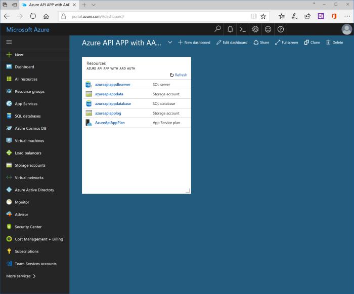Create Azure SQL server